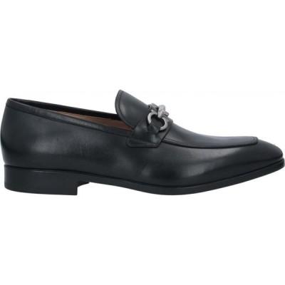 サルヴァトーレ フェラガモ SALVATORE FERRAGAMO メンズ ローファー シューズ・靴 loafers Black