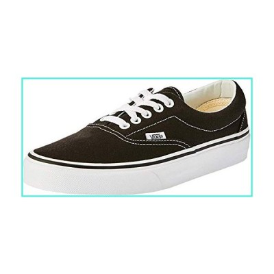 【新品】Vans VEWZNVY Unisex Era Canvas Skate Shoes,Black,9.5 B(M) US Women / 8 D(M) US Men(並行輸入品)