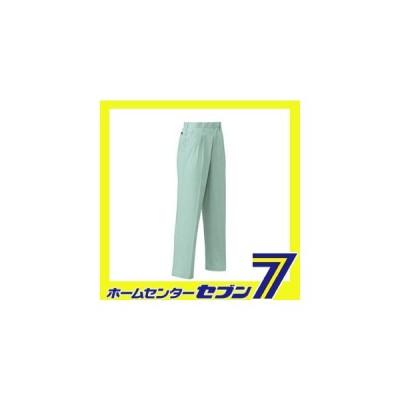 ツータック スラックス グリーン 79cm 1943 コーコス信岡 [ズボン パンツ 作業服 作業着 ワーク ユニフォーム]