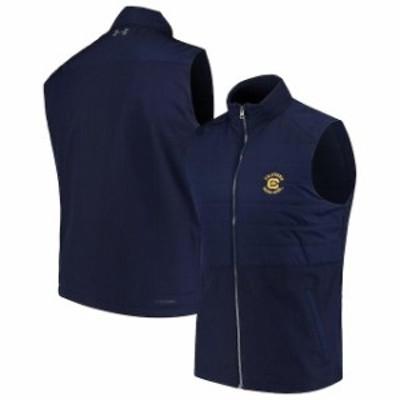 Under Armour アンダー アーマー スポーツ用品  Under Armour Cal Bears Navy Hybrid Performance Vest