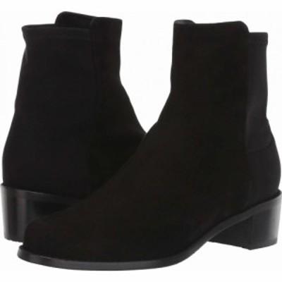 スチュアート ワイツマン Stuart Weitzman レディース ブーツ シューズ・靴 Easyon Reserve (5050) Bootie Black Suede/Stretch Gabardin