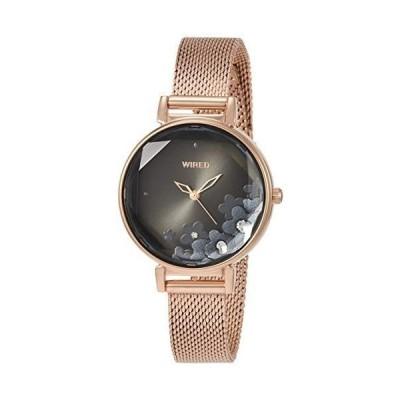 セイコーウォッチ 腕時計 ワイアード エフ AGEK450 レディース ゴールド