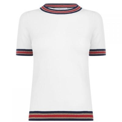 イブルース Iblues レディース トップス Arte T Shirt Wool White