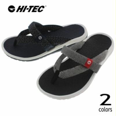 ハイテック HI-TEC サンダル カワズ トング KAWAZ THONGS ブラック/ホワイト ネイビー