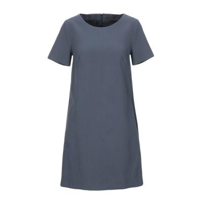 ペゼリコ PESERICO ミニワンピース&ドレス グレー 40 コットン 99% / ポリウレタン 1% ミニワンピース&ドレス