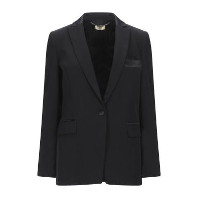 リュー ジョー LIU •JO テーラードジャケット ブラック 46 ポリエステル 88% / ポリウレタン 12% テーラードジャケット
