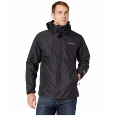 コロンビア メンズ コート アウター Bugaboo II Fleece Interchange Jacket Black/Charcoal Heather