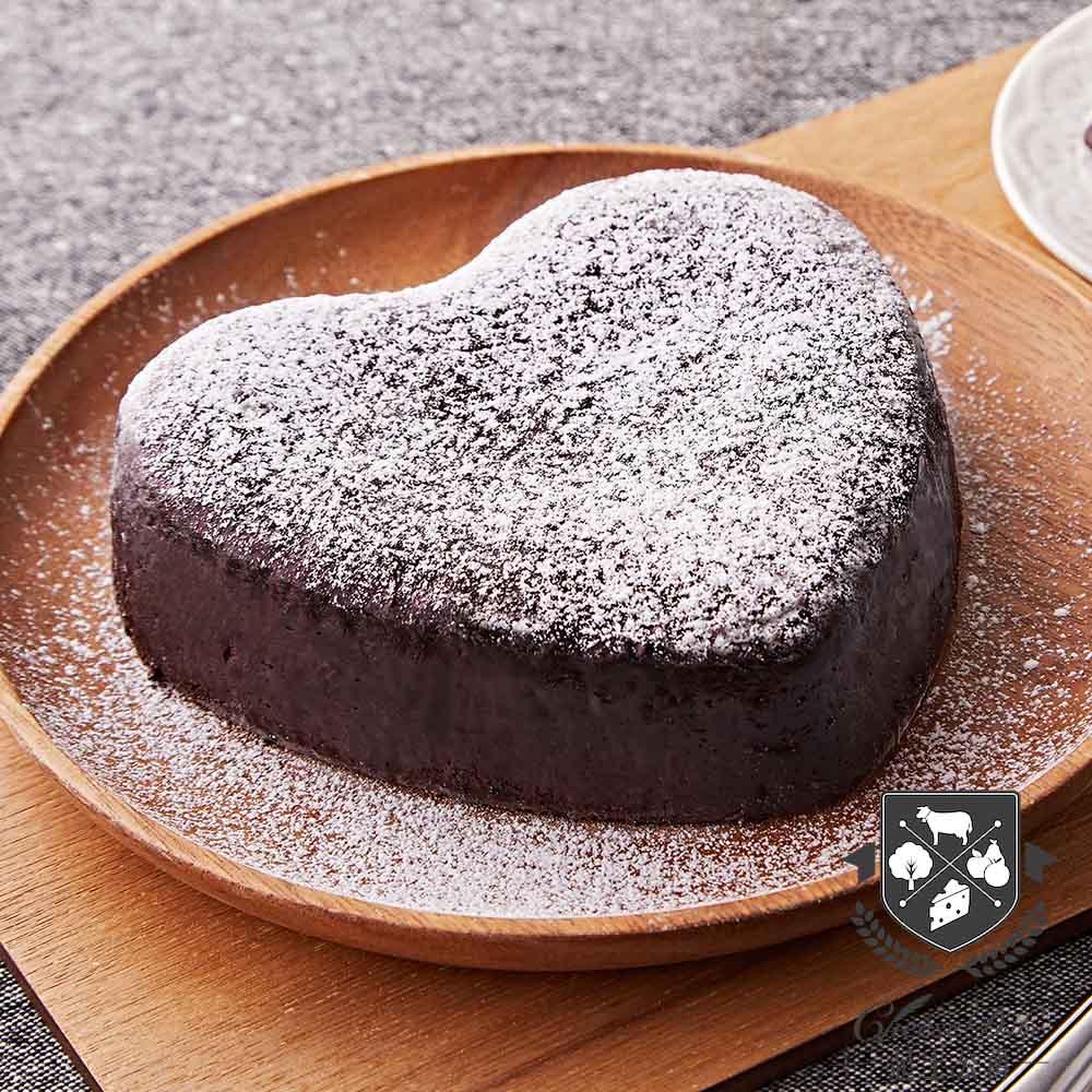 【起士公爵】75%特濃皇家布朗尼蛋糕6吋