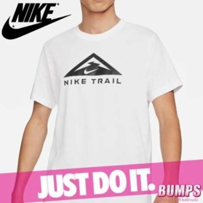 NIKE ナイキ プリントTシャツ 丸首 半袖 メンズ ドライフィット HWPO ロゴ トレイルランニング トップス 新作