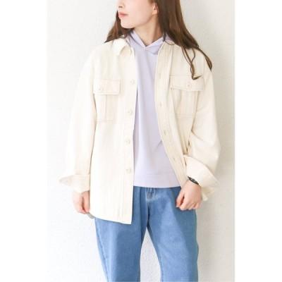 コットンCPOシャツジャケット