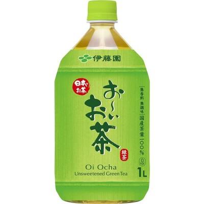 伊藤園 おーいお茶 緑茶 1L×12本