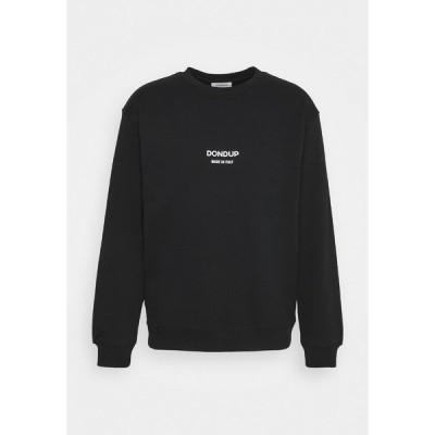 ドンダップ パーカー・スウェットシャツ メンズ アウター Sweatshirt - black
