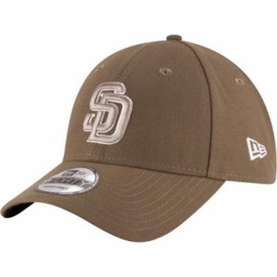 ニューエラ キャップ San Diego Padres 9Forty Brown Adjustable Hat