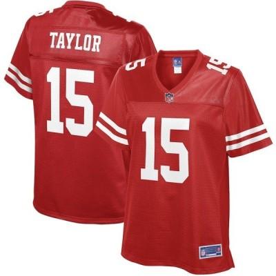 エヌエフエル プロ ライン レディース Tシャツ トップス Trent Taylor San Francisco 49ers NFL Pro Line Women's Primary Player Jersey