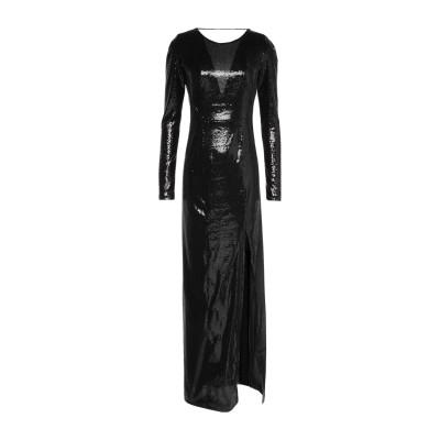 GALVAN  London ロングワンピース&ドレス ブラック 34 ポリエステル 98% / ポリウレタン 2% ロングワンピース&ドレス