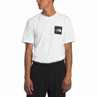 ノースフェイス Tシャツ メンズ 半袖 ホワイト 大きいサイズ ニューボックス The North Face Men's New Box T-Shirt TNF White/TNF Black