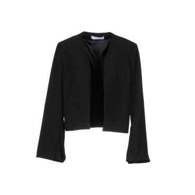 カオス KAOS テーラードジャケット ブラック 40 91% ポリエステル 9% ポリウレタン テーラードジャケット