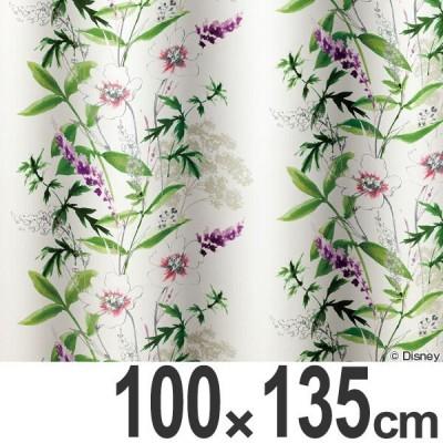 カーテン 遮光カーテン スミノエ ミッキー ワイルドフラワ− 100×135cm ( ディズニー ドレープカーテン ミッキーマウス )