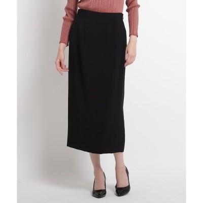 スカート 【洗える】ミモレタイトスカート