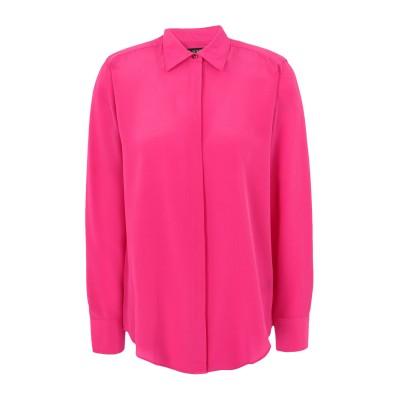 LAUREN RALPH LAUREN シャツ フューシャ XL シルク 100% シャツ