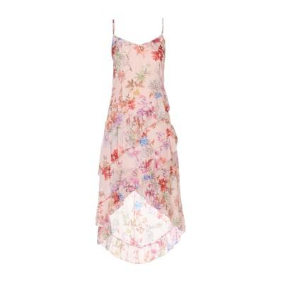 TWENTY EASY by KAOS ミニワンピース&ドレス ピンク 44 ポリエステル 100% ミニワンピース&ドレス