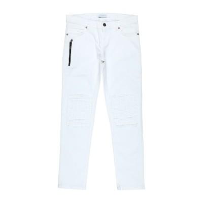 BRIAN RUSH パンツ ホワイト 14 コットン 97% / ポリウレタン 3% パンツ