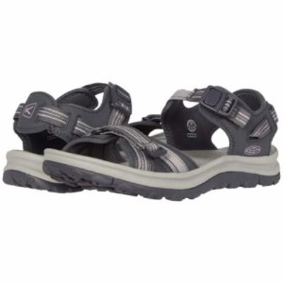 キーン Keen レディース サンダル・ミュール オープントゥ シューズ・靴 Terradora II Open Toe Sandal Dark Grey/Dawn Pink