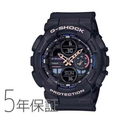 G-SHOCK Gショック GMA-S140-1AJR カシオ CASIO ミドルサイズ 小さめ スポーツ 黒 ブラック 腕時計 メンズ