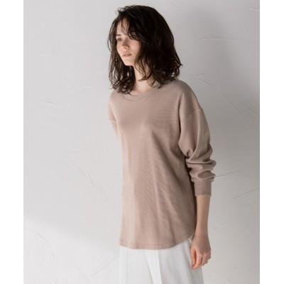MAYSON GREY / 【socolla】ラウンドカットチュニックロンT WOMEN トップス > Tシャツ/カットソー