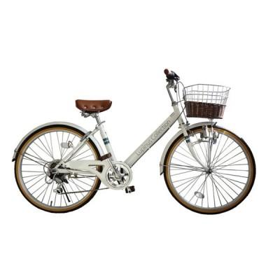100%完成品出荷 24インチシティサイクル 自転車 Lupinusルピナス LP-246VD