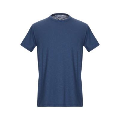 アンドレア フェンツィ ANDREA FENZI T シャツ ブルー 52 コットン 70% / 麻 30% T シャツ