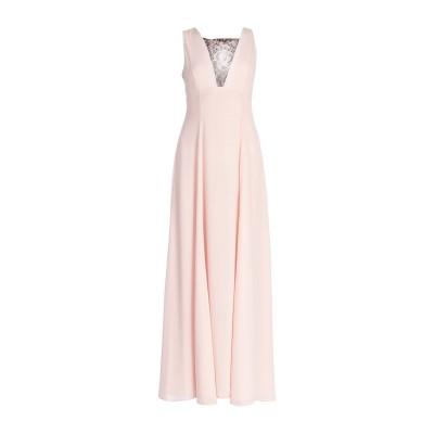 アレッサンドロデラクア ALESSANDRO DELL'ACQUA ロングワンピース&ドレス ピンク 40 ポリエステル 100% ロングワンピース