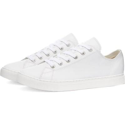 ジュンヤ ワタナベ Junya Watanabe MAN メンズ スニーカー シューズ・靴 leather cupsole sneaker White