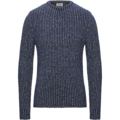アクネ ストゥディオズ ACNE STUDIOS メンズ ニット・セーター トップス Sweater Dark blue