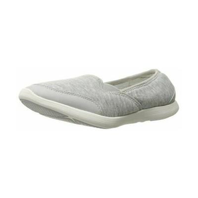 フラットシューズ バレエシューズ バス レディース G.H. Bass & Co. Women's Sloan Fashion Sneaker, Grey, 7.5 M US