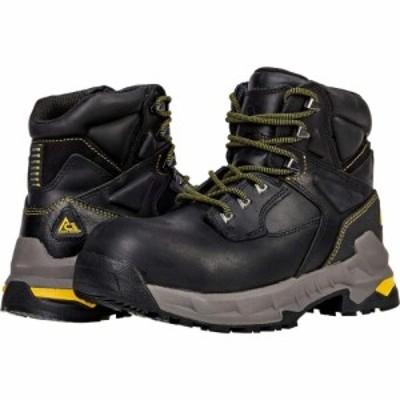 エースワークブーツ ACE Work Boots メンズ ブーツ シューズ・靴 Burren Composite Toe Black