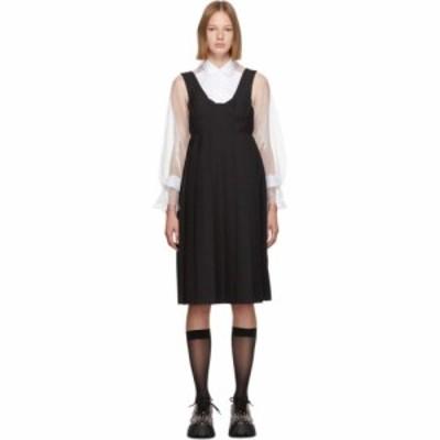 ノワール ケイ ニノミヤ Noir Kei Ninomiya レディース ワンピース ビスチェ ワンピース・ドレス black wool bustier dress