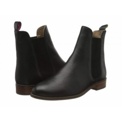 Joules レディース 女性用 シューズ 靴 ブーツ チェルシーブーツ アンクル Westbourne Black【送料無料】