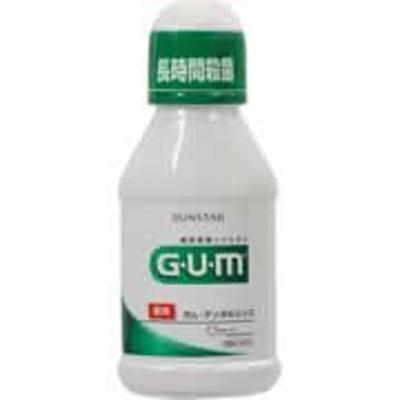 【GUM(ガム) 薬用 デンタルリンス レギュラー 80ml】[代引選択不可]