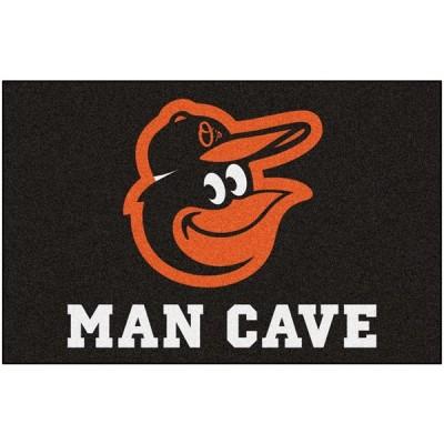 MLB   Balitmore Orioles Man CaveスターターRug 19インチx 30インチ 並行輸入品