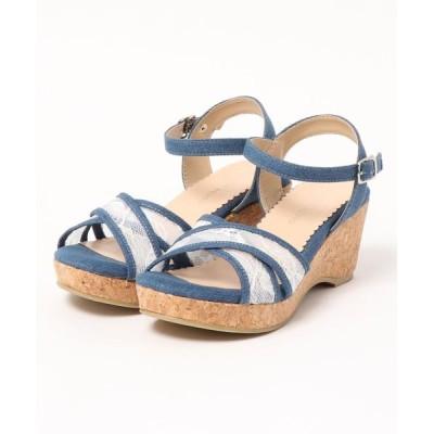 Parade ワシントン靴店 / 【厚底】リラックスクロスベルトサンダル 54697 WOMEN シューズ > サンダル