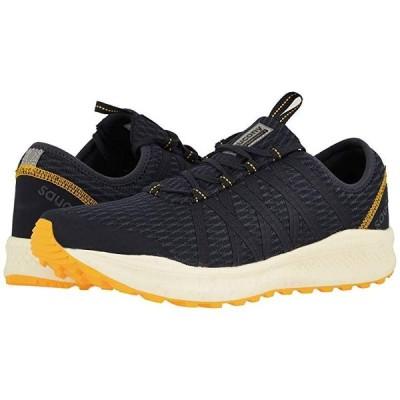 サッカニー Versafoam Shift メンズ スニーカー 靴 シューズ Navy/Yellow