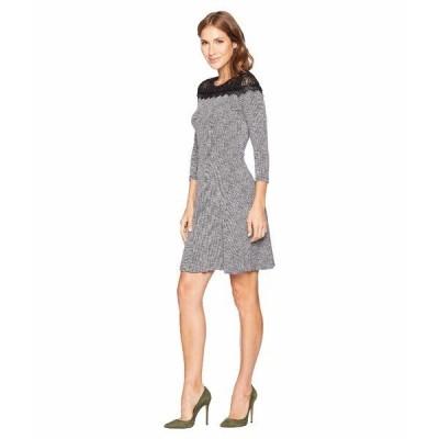 【当日出荷】 マイケルコース レディース Mini Tweed Lace Dress [並行輸入品] 【サイズ XL】