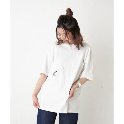 tシャツ Tシャツ 【COB MASTER(コブマスター)】別注 山ポケット&刺繍Tシャツ
