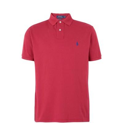 POLO RALPH LAUREN ポロシャツ ガーネット S コットン 100% ポロシャツ