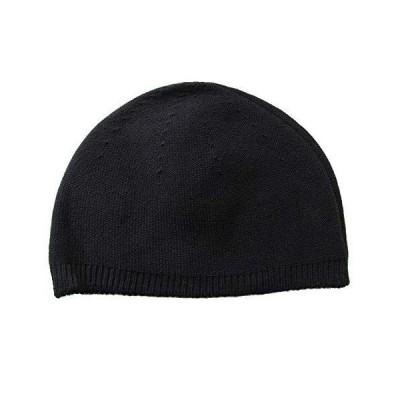 (エッジシティー)EdgeCity イスラムワッチ オーガニックコットン ニット 帽子 メンズ 日本製 (M, 97/ブラック)