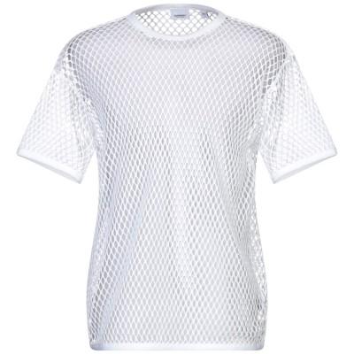 BURBERRY T シャツ ホワイト S コットン 100% T シャツ