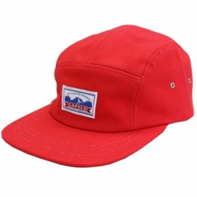 キャップ 帽子 キャペロ CAPELO  CANVAS CAP RED キャンバスキャップ