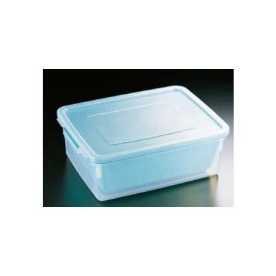 野菜水切り器 ザルとコンテナーがセットになって使い方いろいろ! ざるコン角 ZC-2(ポリプロピレン) (8-0269-0101)