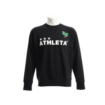 アスレタ(ATHLETA) スウェットシャツ トレーナー XE-311 BLK 【サッカー スポーツウェア】 (メンズ)